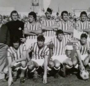 Hoy hace 46 años. Betis 2 Linares 0.
