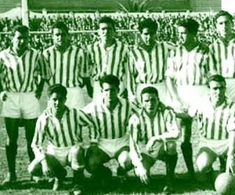 Alineación Betis-Badajoz Liga 1956