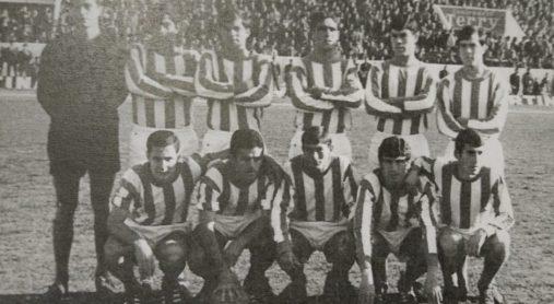 Alineación Triana-Sevilla Atlético Liga 1968
