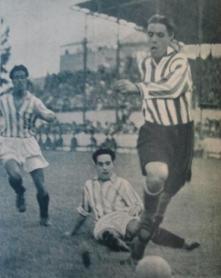 Hoy hace 85 años. Betis 3 Athletic 1 en Copa.