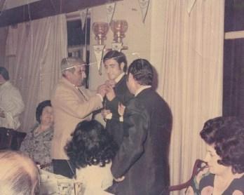 Homenaje por el ascenso 1971