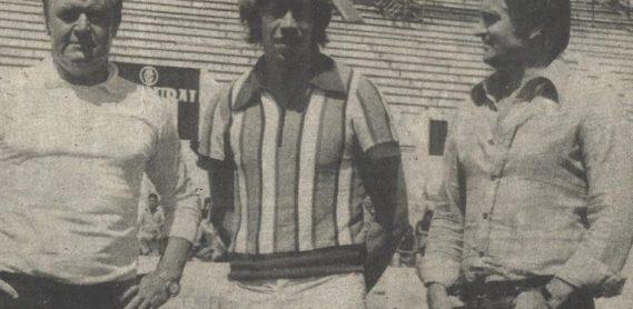 Gerrie Muhren en el Villamarín 1976