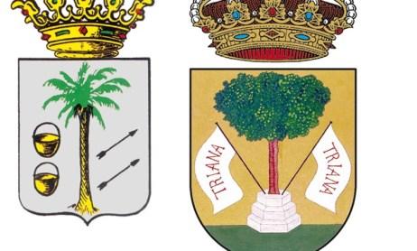 Homenajes en La Palma y Manzanilla 1954