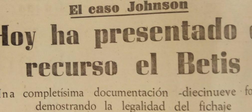 Hoy hace 60 años. Recurso por el jugador Torbjöern Jonsson.