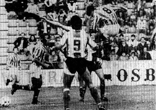 Hoy hace 35 años. Betis 1 Hércules 0.