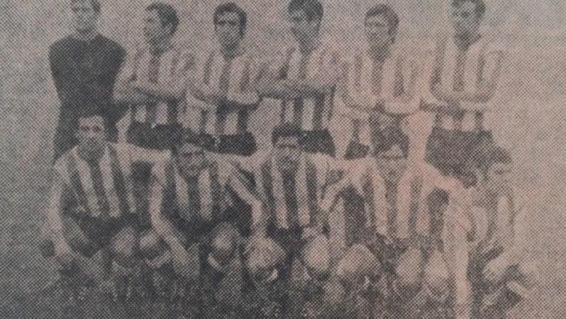 Alineación Rayo Vallecano-Betis Liga 1970.