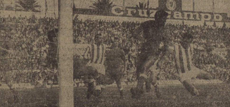 Hoy hace 50 años. Betis 0 Córdoba 1.