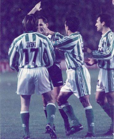 Hoy hace 25 años. Betis 1 Atlético Madrid 2 en Copa.