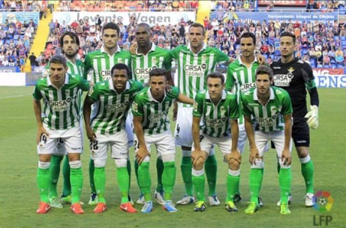 Alineación Levante-Betis Liga 2013.