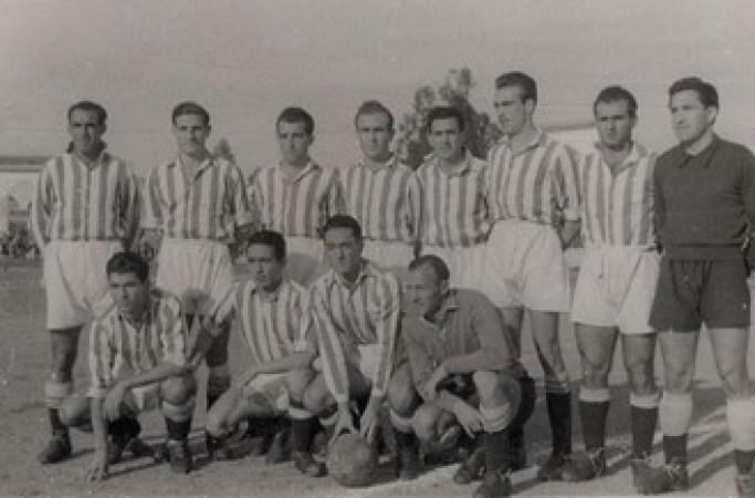 Alineación Cacereño-Betis Liga 1949.