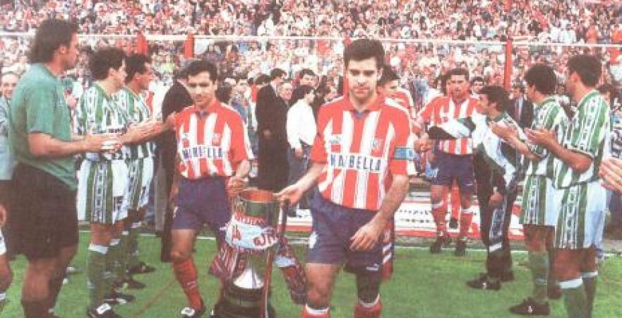 Hoy hace 25 años. Atlético Madrid 1 Betis 1.