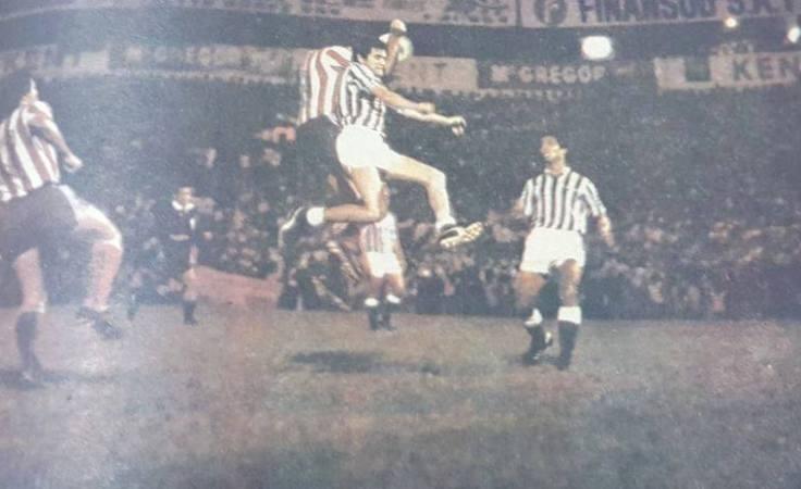 Hoy hace 40 años. Paraguay 2 Betis 0.
