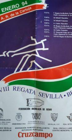 Regata Sevilla-Betis 1994.