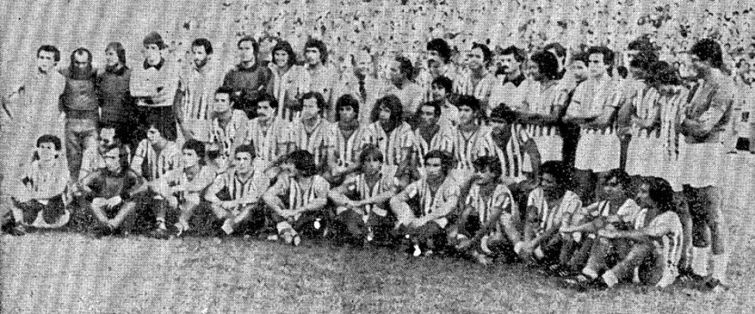 Hoy hace 42 años. Presentación del Betis.