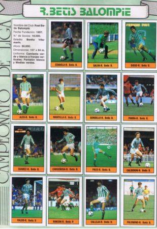 Album de cromos temporada 1984-85