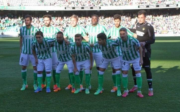 Alineación Betis-Getafe Liga 2014.