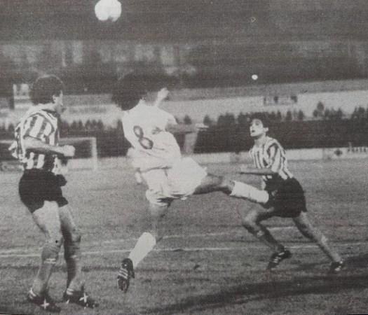 Hoy hace 30 años. Atlético Marbella 0 Betis 0 en Copa.