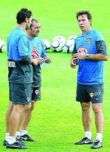 Abel y Sabas dirigirán al Real Valladolid.