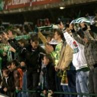 Afición Betis-Valencia
