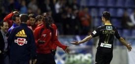 Dani Benítez abrió el marcador con un golazo de falta. Foto: Azulyblanco.com