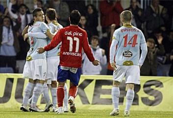 El Celta ha goleado a un Numancia sin pólvora. Foto: Marca