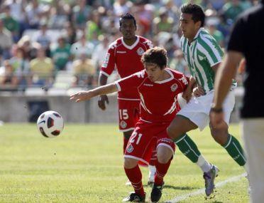 Sisi, en el partido de ida. (Foto: futbolerospucelanos)