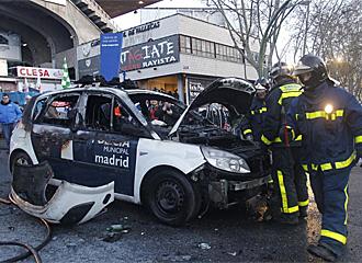 El resultado de los disturbios. Fuente: Marca.com