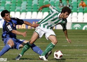 Cañas es uno de los convocados por Mel para Girona. Foto: Betisweb.