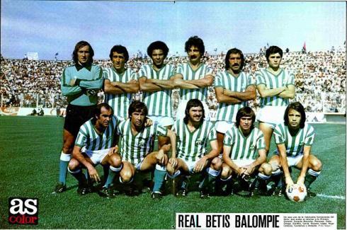 Alineación del Betis en 1979