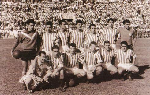 Alineación del Betis en 1958