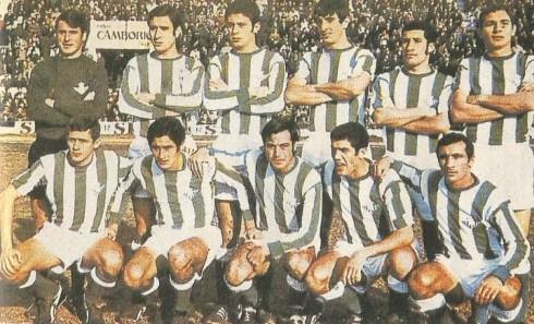 Alineación del Betis en 1969