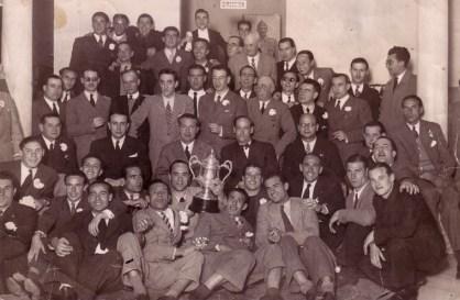 Celebración del ascenso de 1942