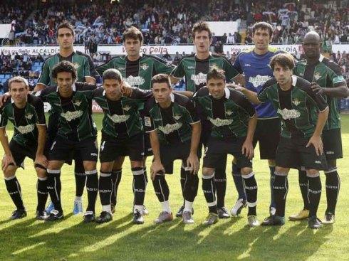Alineación del Betis en 2011