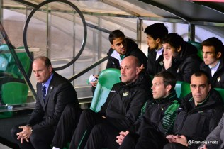 Nuevo equipo técnico (Betis - Tenerife 14/15)
