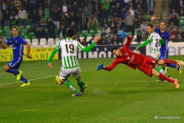 Gol de Molina (Betis - Tenerife 14/15)