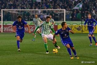 Fabian entra por Matilla (Betis - Tenerife 14/15)