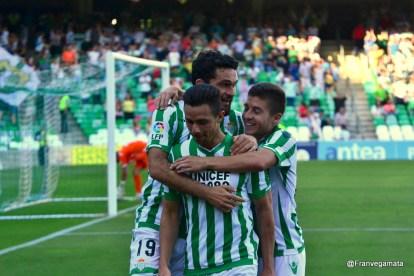 Segundo gol de Ruben Castro  (Betis-Llagostera 14/15)