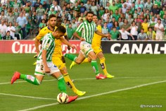 Globo de Ruben Castro que marca (Betis-Alcorcon 14/15)