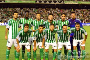 Alineación (Betis - Villarreal 15/16)