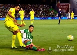 Ruben no da un balón por perdido (Betis - Villarreal 15/16)