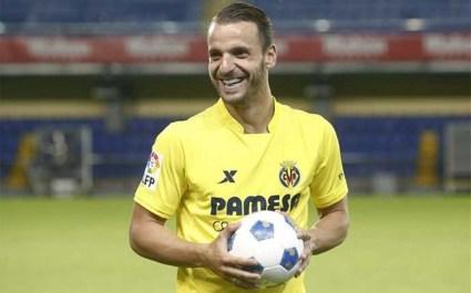 Soldado en su presentación con el Villarreal (Foto: sport.es)
