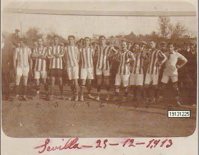 Alineación del Betis en 1913