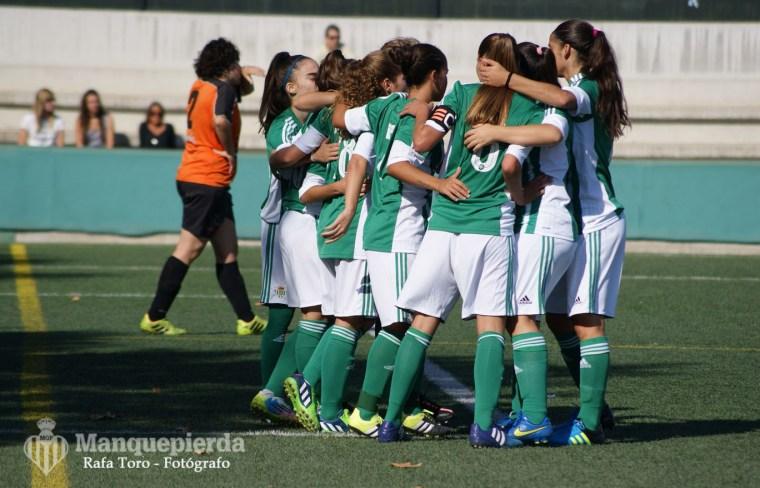 RBB Féminas 2-0 AD El Naranjo Femenino. Foto: Rafa Toro