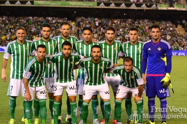 Alineacion inicial (Betis-Deportivo 15/16)