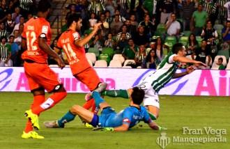Penalti a Ruben Castro (Betis-Deportivo 15/16)