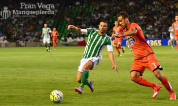 Ruben peleando un esferico (Betis-Deportivo 15/16)