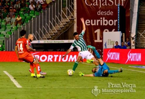 Molina no llega por poco (Betis-Deportivo 15/16)