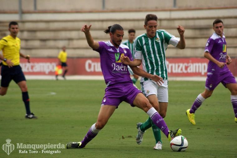 Lance del Betis B - Real Jaén de la primera vuelta
