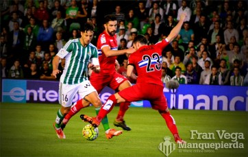 Primeros lances del partido Cejudo (Betis-Español 15/16)