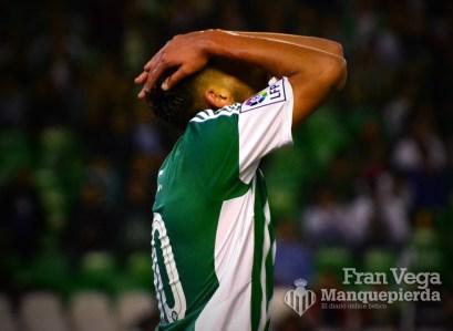 Ceballos se lamentaba por la ocasion (Betis-Español 15/16)